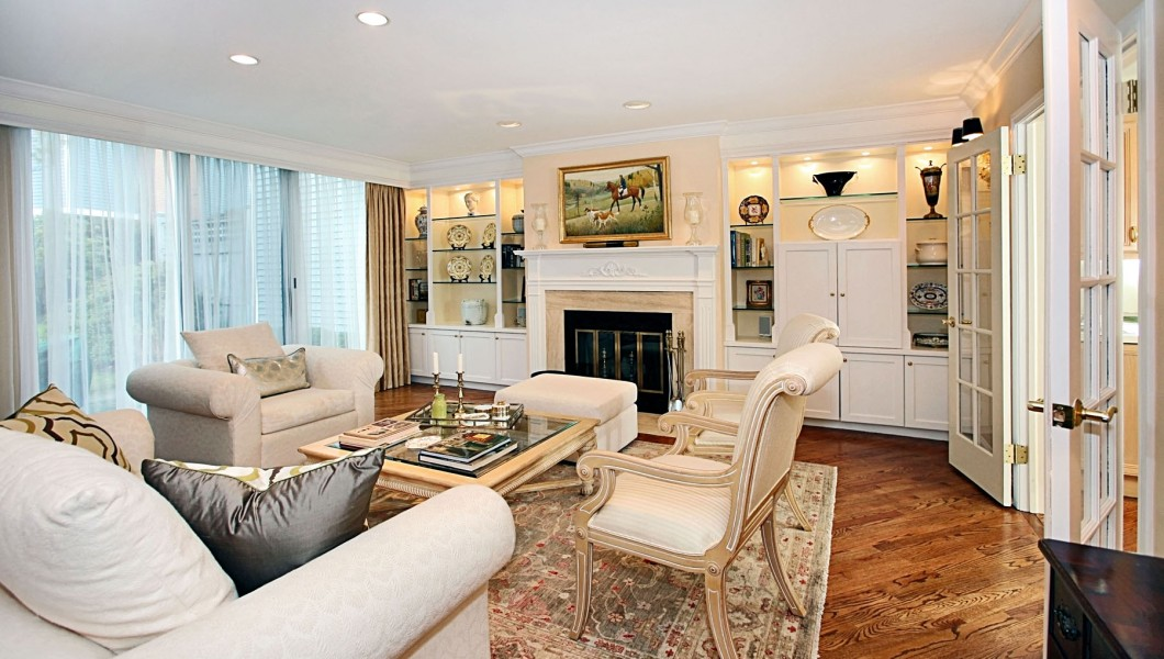 172 Regents Park, Westport, Ct., Living Room