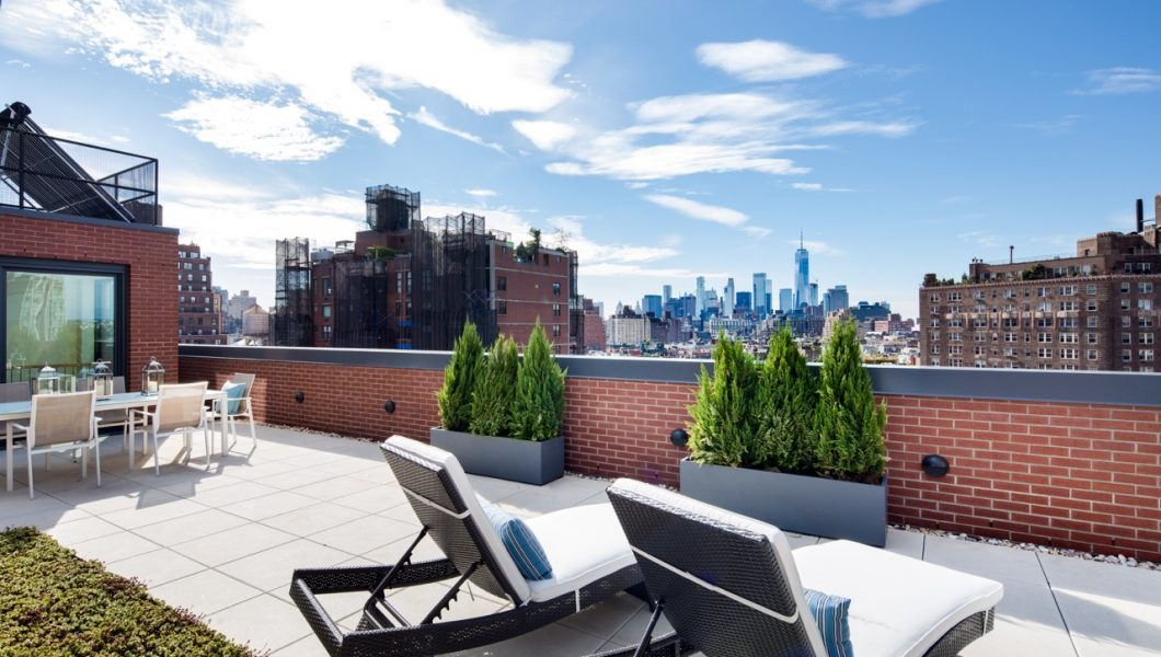 245 West 14th Street, PH, New York, Outdoor Terrace