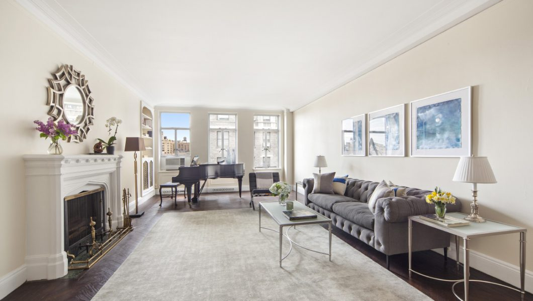 The Beresford, 211 CPW, Apt. 10J, Living Room, NY, NY. Sold in 2 Days