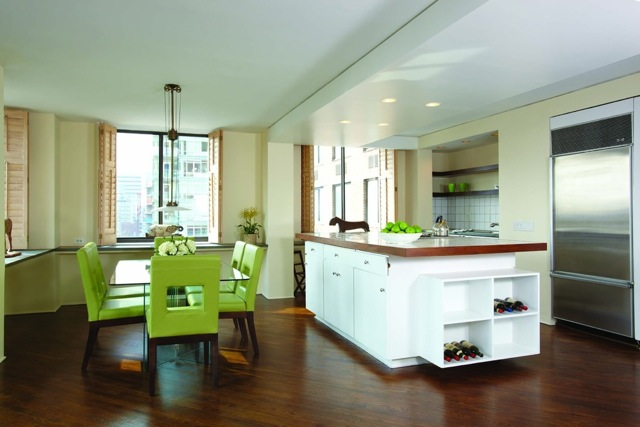 300 East 54th Street, New York, Apt. JKL Dining Room/Kitchen. Sold at First Open House.