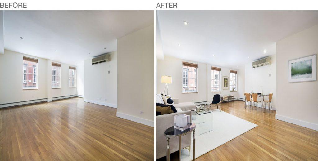 273 Water Street, New York, Living Room