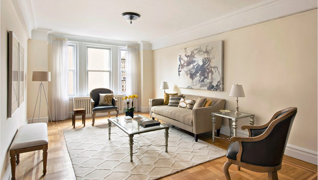 221 West 82nd Street, Living Room, New York. Sold in less than 3 months.
