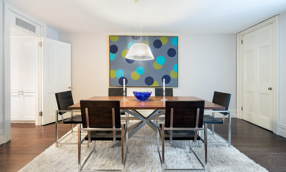 174 East 70th Street, New York, Dining Room, signed contract within 9 days of staging