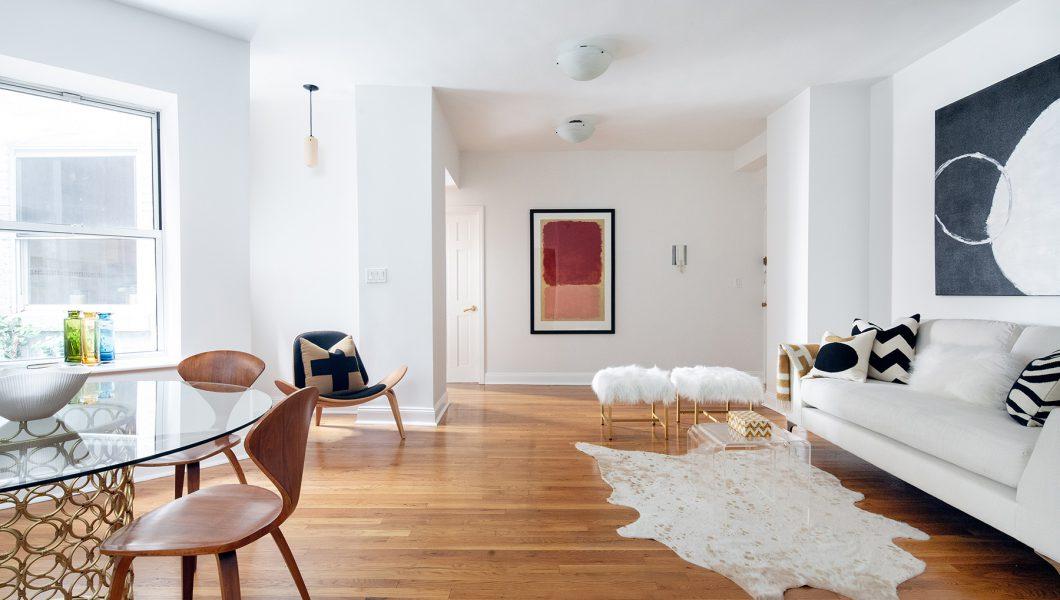 61 East 77th Street, New York, Living Room